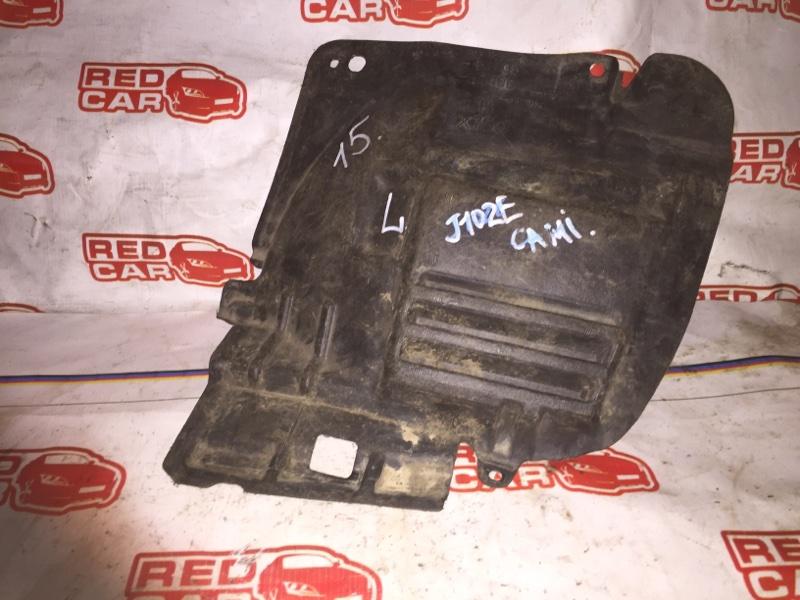 Защита двигателя Toyota Cami J102E передняя левая (б/у)