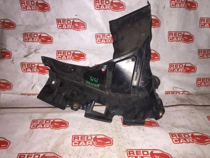 Защита двигателя Toyota Bb NCP31 1NZ-FE передняя правая (б/у)