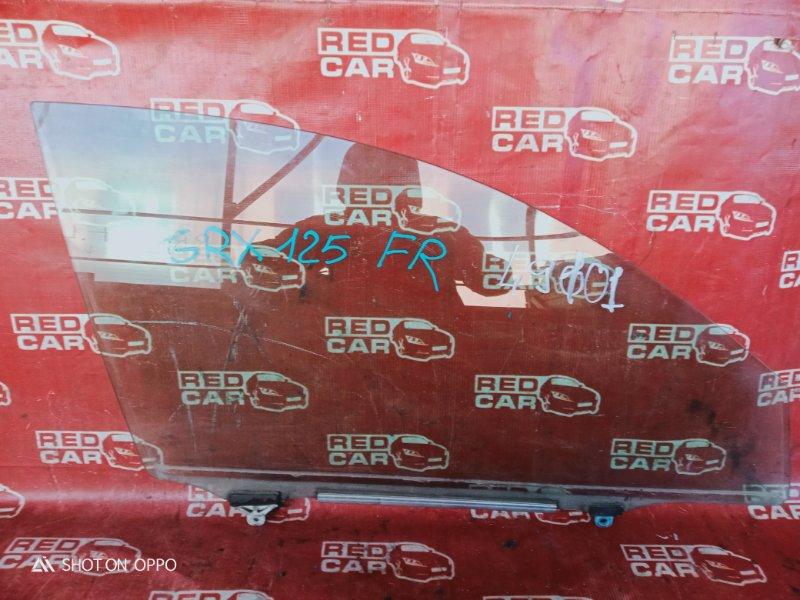 Стекло двери Toyota Mark X GRX125 переднее правое (б/у)