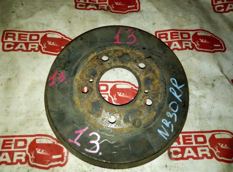 Тормозной барабан Nissan Lafesta NB30 MR20 задний (б/у)