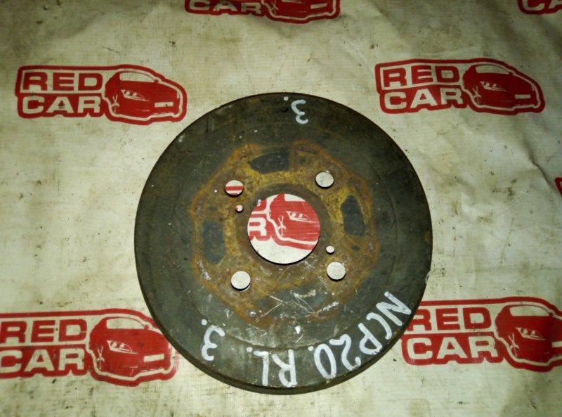 Тормозной барабан Toyota Funcargo NCP20 1NZ задний (б/у)