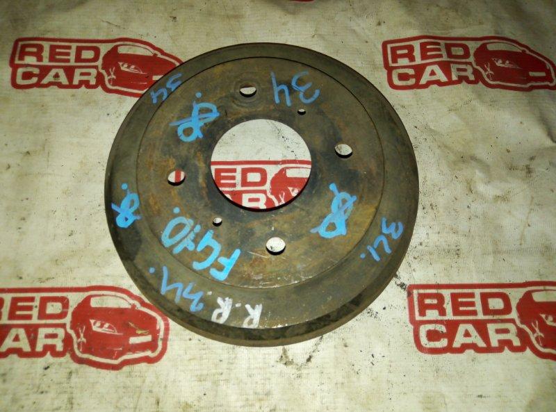 Тормозной барабан Nissan Bluebird Sylphy FG10 QG15 задний (б/у)