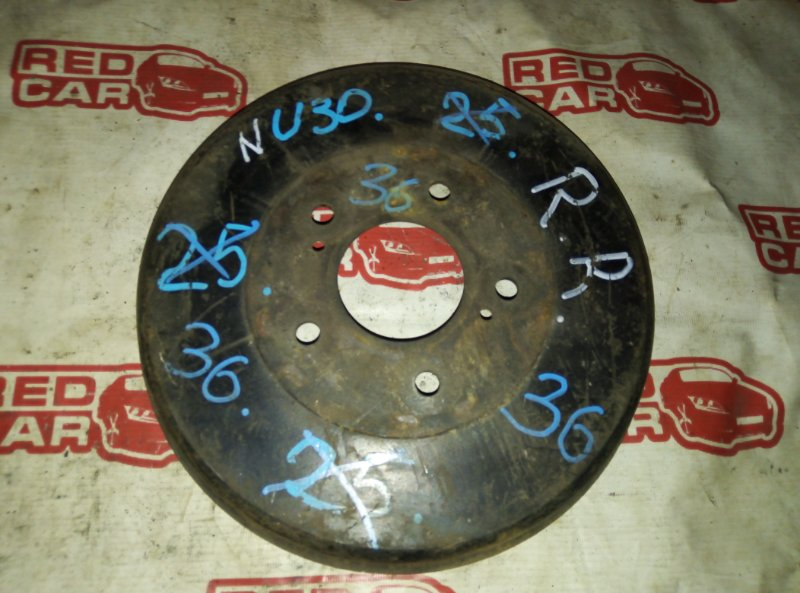 Тормозной барабан Nissan Presage NU30 задний (б/у)