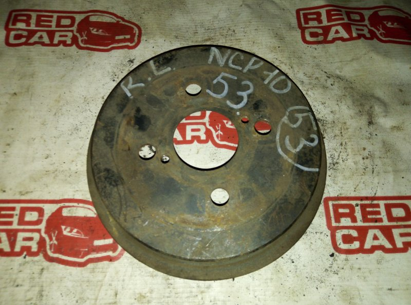 Тормозной барабан Toyota Vitz NCP10 задний (б/у)