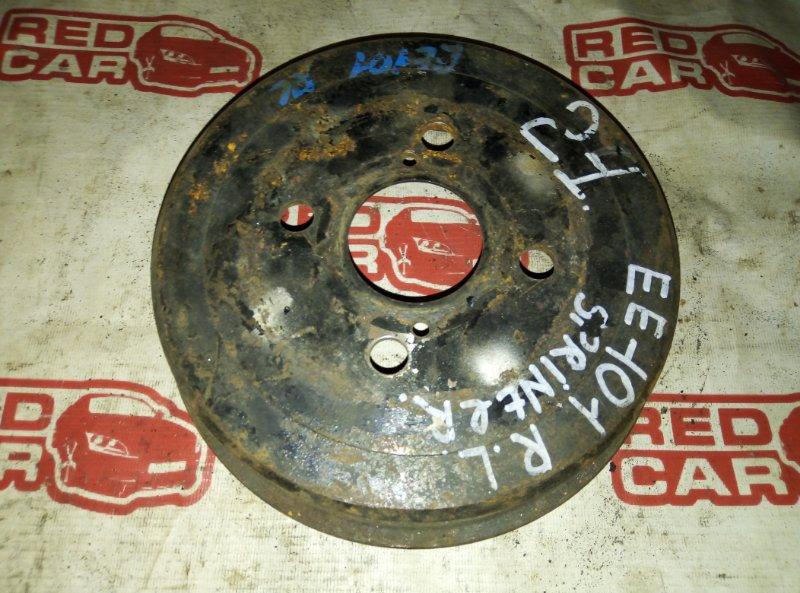 Тормозной барабан Toyota Sprinter EE101 4E задний (б/у)