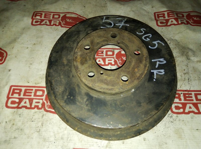 Тормозной барабан Subaru Forester SG5 EJ20 задний правый (б/у)