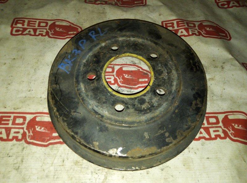 Тормозной барабан Mazda Axela BK3P L3 задний левый (б/у)