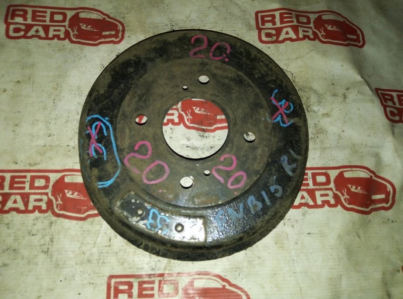 Тормозной барабан Nissan Sunny FNB15 QG15 задний (б/у)
