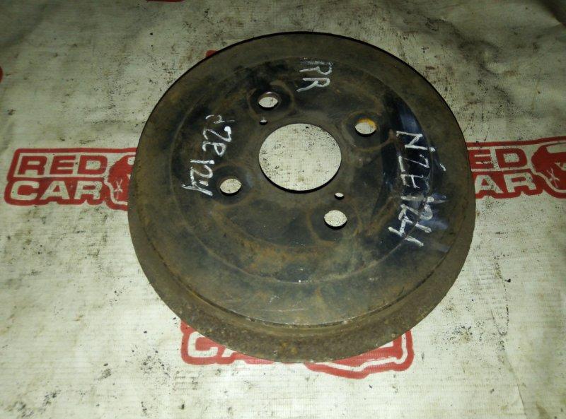 Тормозной барабан Toyota Vitz NCP95 1NZ задний (б/у)