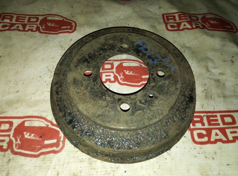 Тормозной барабан Nissan Sunny FB13 GA15 задний (б/у)