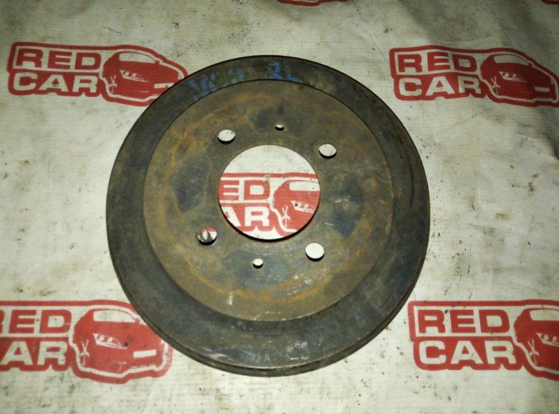 Тормозной барабан Nissan Tiida NC11 HR15 задний (б/у)