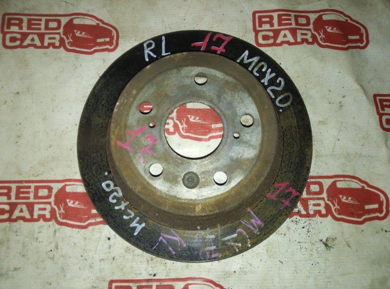 Тормозной диск Toyota Pronard MCX20 1MZ-FE задний (б/у)