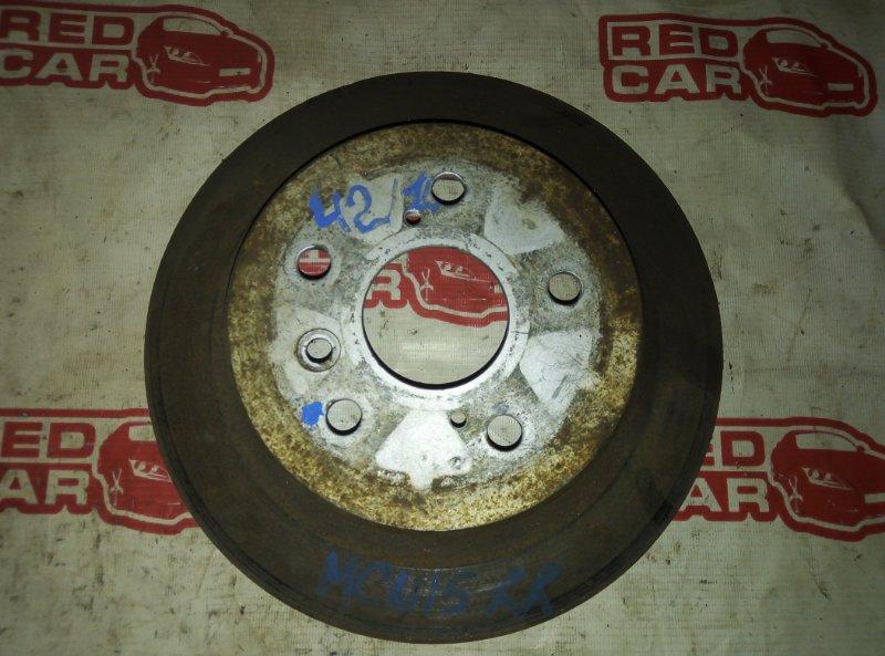 Тормозной диск Toyota Harrier MCU15 1MZ задний правый (б/у)
