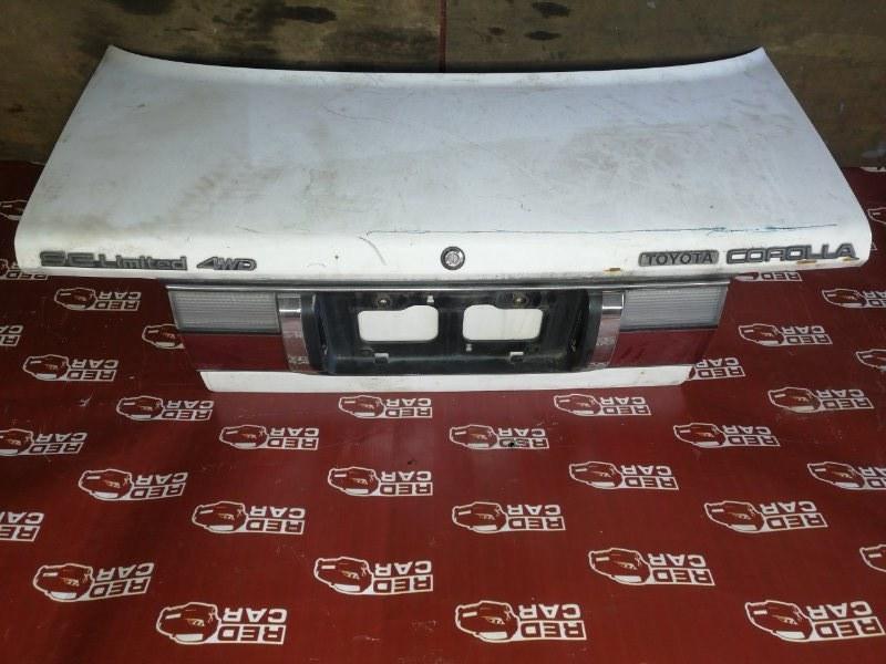 Крышка багажника Toyota Corolla AE95-5040516 4A 1991 (б/у)