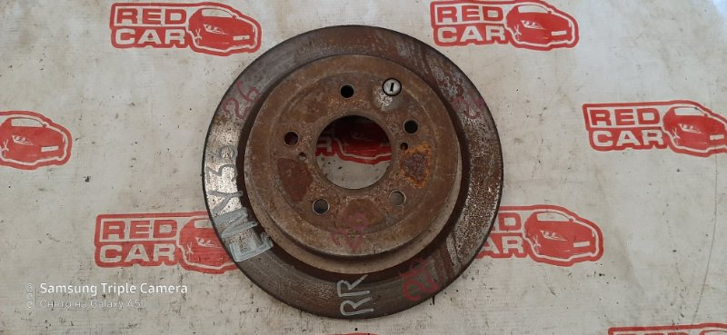 Тормозной диск Nissan Gloria Y33 задний (б/у)