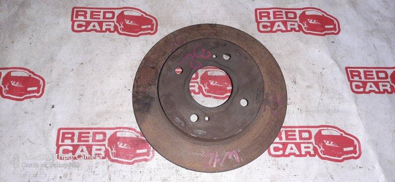 Тормозной диск Nissan Avenir W10 SR18 задний (б/у)