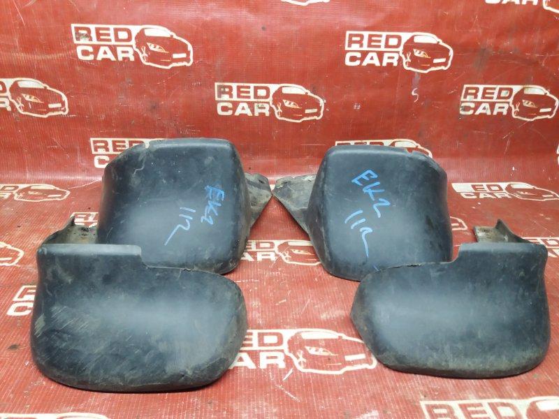 Брызговики комплект Honda Civic EK2-1111983 D13B 1997 (б/у)