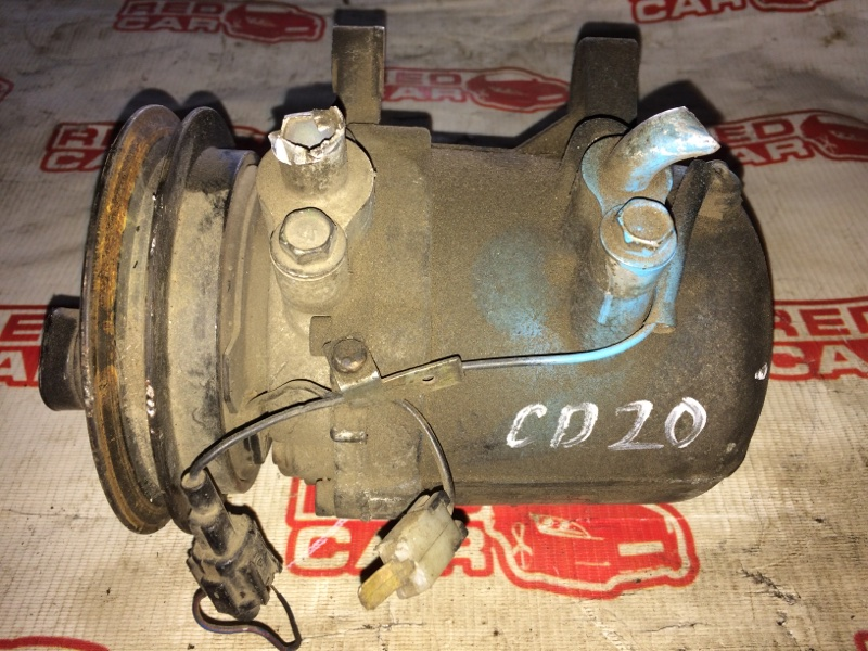 Компрессор кондиционера Nissan Sunny SB14 CD20 (б/у)