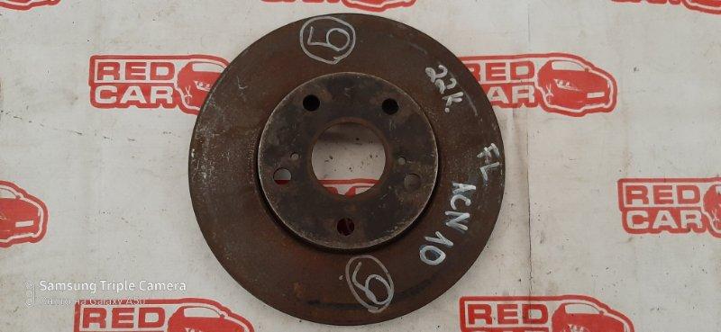 Тормозной диск Toyota Nadia ACN10 1AZ передний левый (б/у)