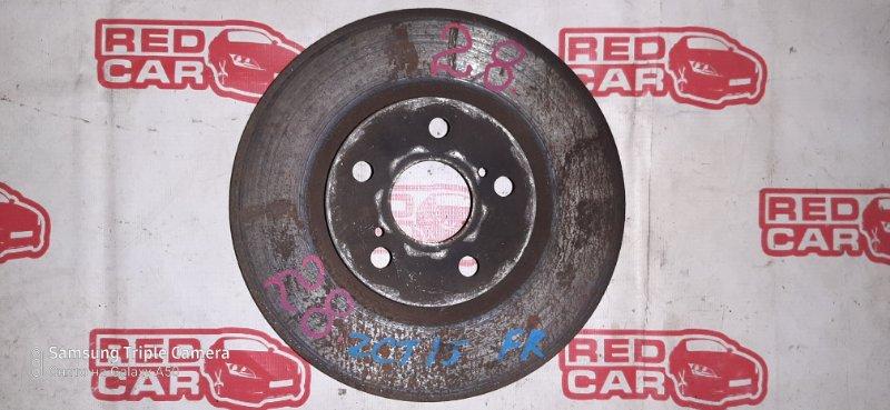 Тормозной диск Toyota Opa ZCT15 1ZZ передний правый (б/у)