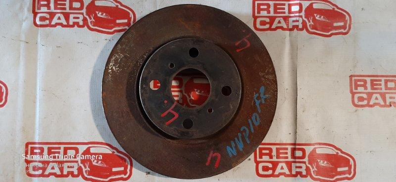 Тормозной диск Toyota Porte NNP10 1NZ передний правый (б/у)