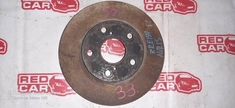 Тормозной диск Toyota Auris ZRE154 передний (б/у)