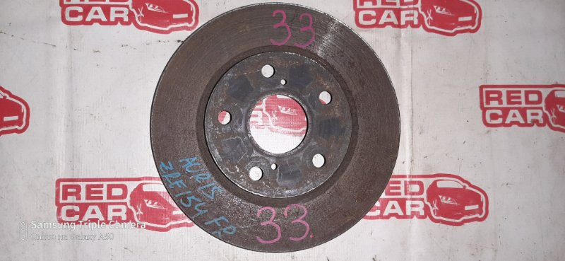 Тормозной диск Toyota Auris ZRE154 2ZR передний (б/у)