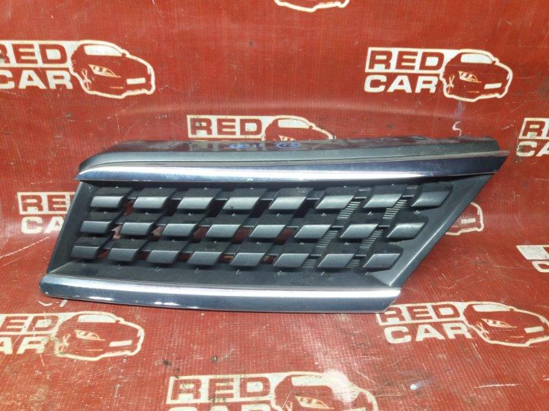 Решетка радиатора Nissan Tiida NC11-102739 HR15 2004 левая (б/у)