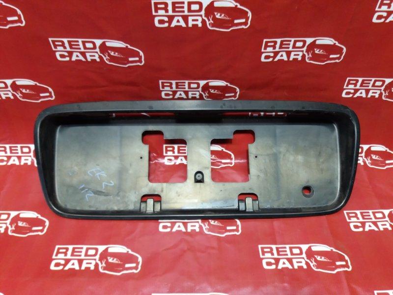 Рамка для номера Honda Civic EK2-1111983 D13B 1997 задняя (б/у)