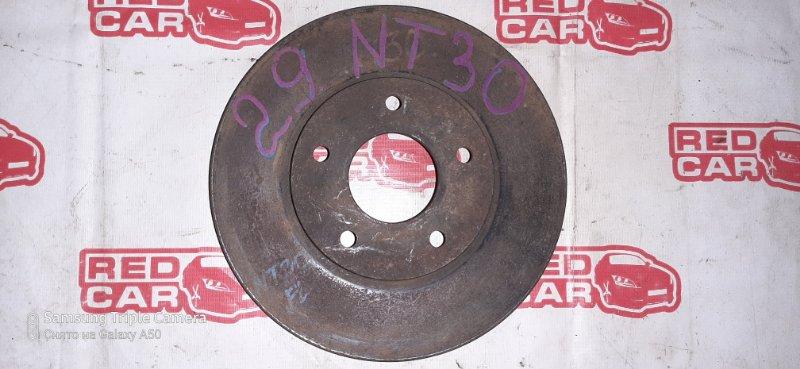 Тормозной диск Nissan X-Trail NT30 QR20 передний (б/у)