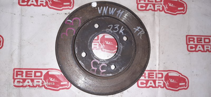 Тормозной диск Nissan Expert VNW11 QG15 передний (б/у)