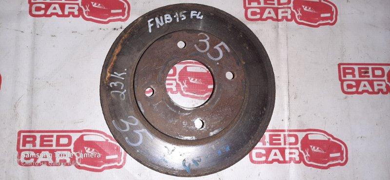 Тормозной диск Nissan Bluebird Sylphy FG10 QG15 передний (б/у)