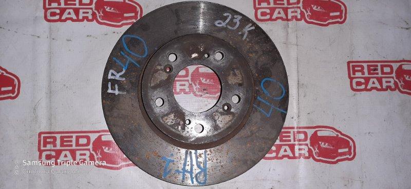 Тормозной диск Honda S-Mx RH1 передний (б/у)