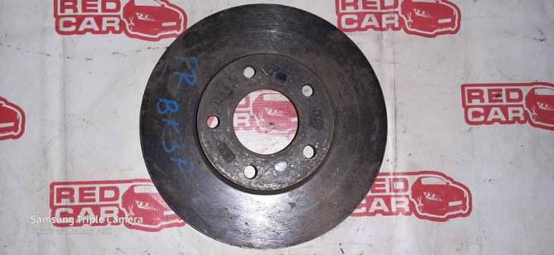 Тормозной диск Mazda Axela BK3P передний (б/у)