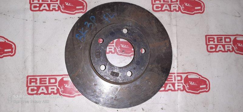 Тормозной диск Mazda Axela BK3P передний левый (б/у)