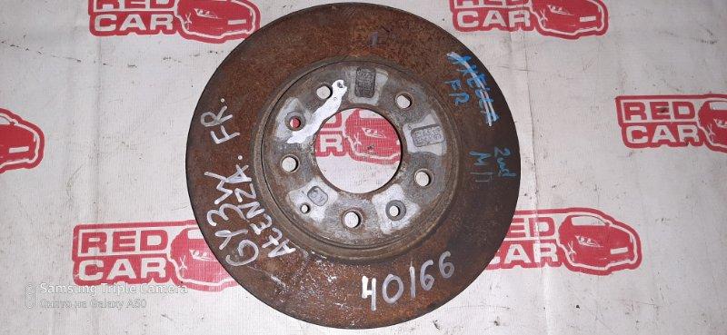 Тормозной диск Mazda Atenza GY3W L3 передний (б/у)