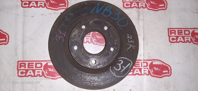 Тормозной диск Nissan Lafesta NB30 MR20 передний (б/у)