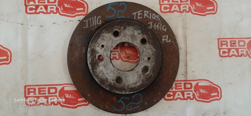 Тормозной диск Daihatsu Terios J111G EF передний (б/у)