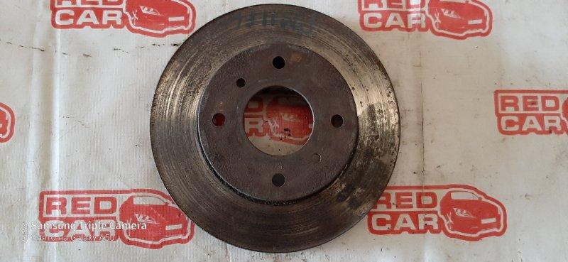Тормозной диск Nissan Prairie Joy PM11 SR20 передний (б/у)