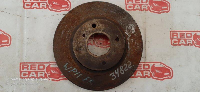 Тормозной диск Nissan Primera WHP11 SR20 передний (б/у)