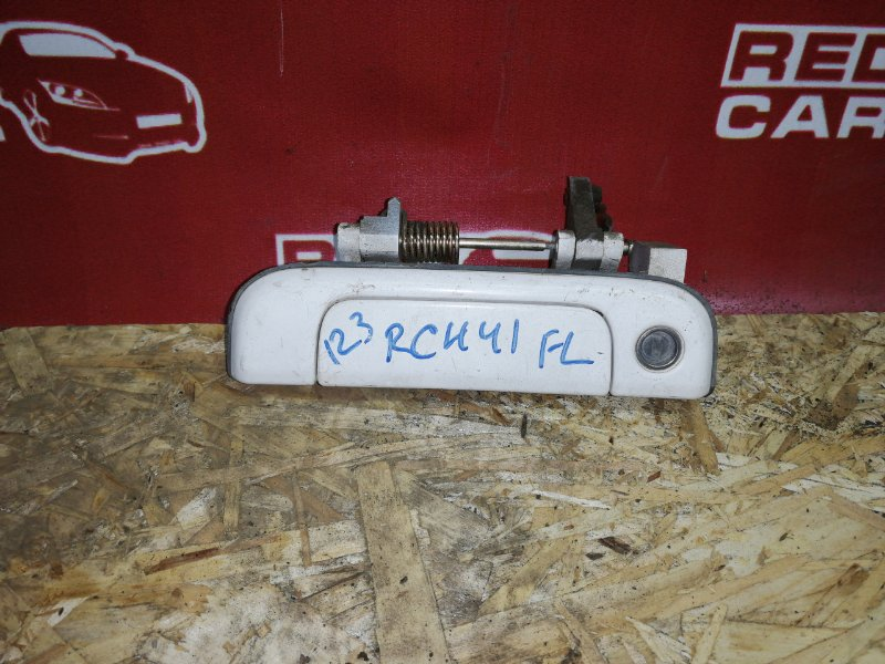 Ручка двери внешняя Toyota Hiace Regius RCH41-0023124 3RZ 1998 передняя левая (б/у)