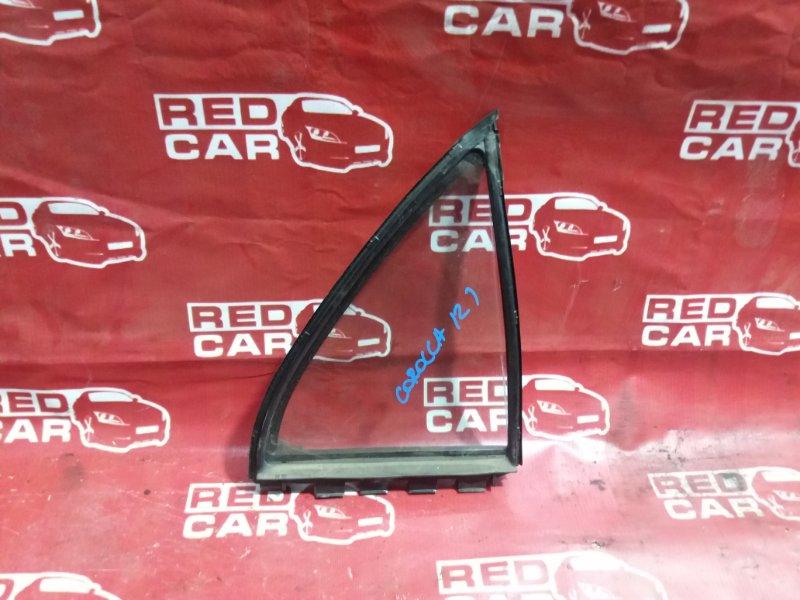 Форточка двери Toyota Corolla NZE121 задняя правая (б/у)