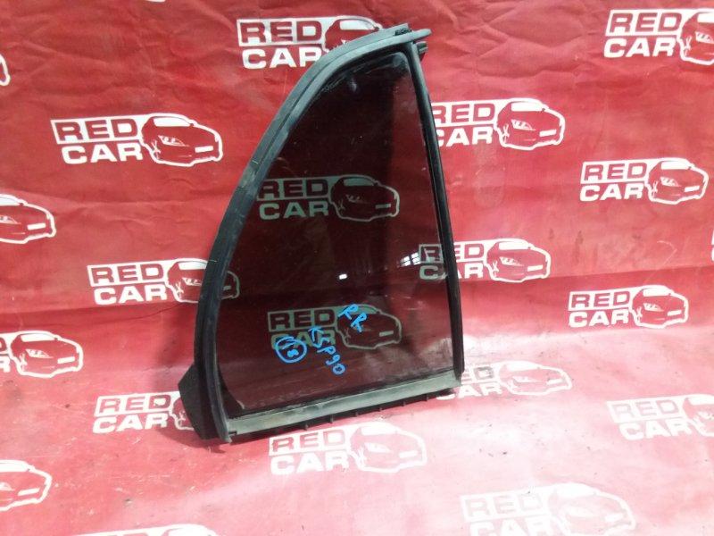 Форточка двери Toyota Vitz KSP90-5163346 1KR 2009 задняя правая (б/у)
