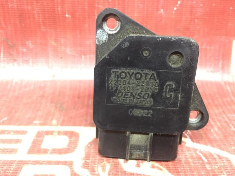 Датчик расхода воздуха Toyota Voltz ZZE137 (б/у)