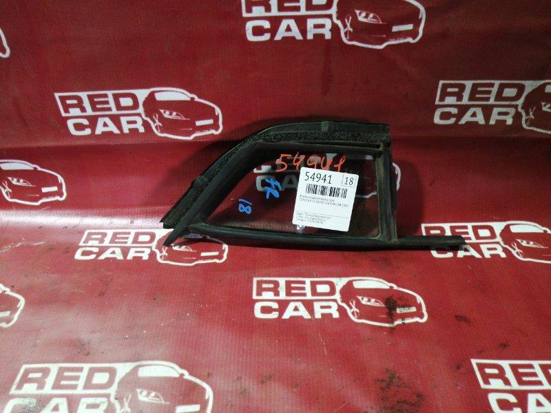 Форточка двери Toyota Vitz KSP90-5163346 1KR 2009 передняя правая (б/у)