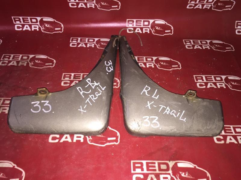 Брызговики комплект Nissan X-Trail NT30 QR20 задние (б/у)