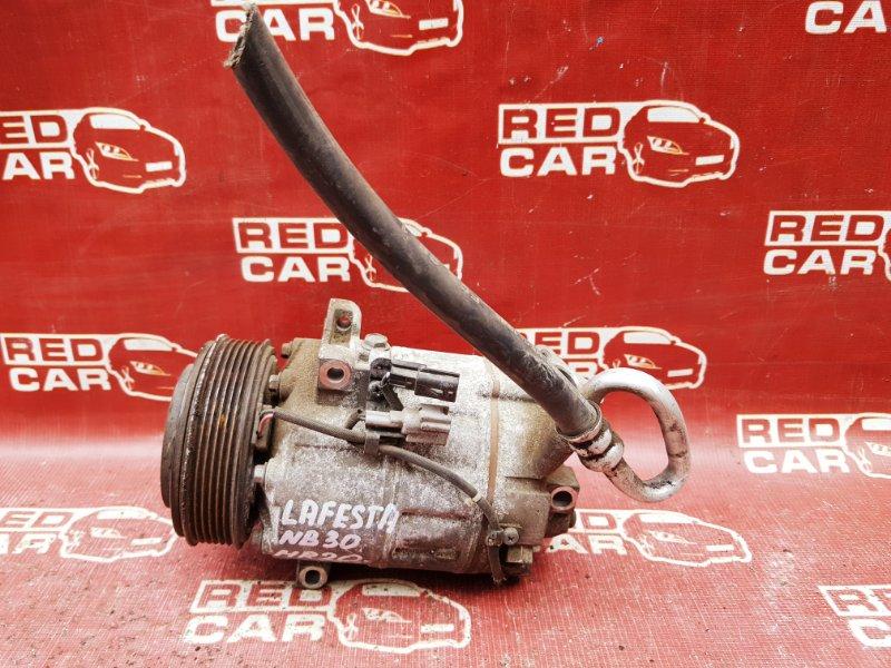 Компрессор кондиционера Nissan Lafesta NB30 MR20 (б/у)