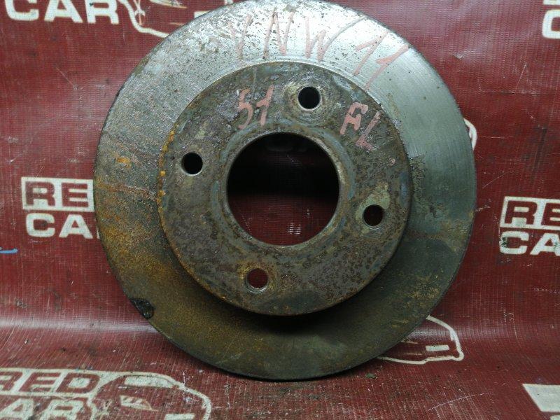 Тормозной диск Nissan Expert VNW11-501998 QG18 2002 передний левый (б/у)