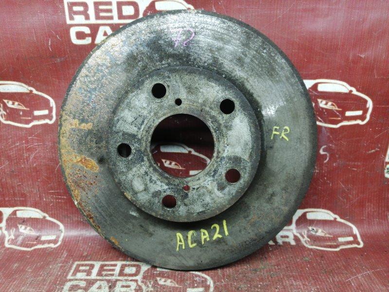 Тормозной диск Toyota Rav4 ACA21-0014744 1AZ-FSE 2000 передний правый (б/у)