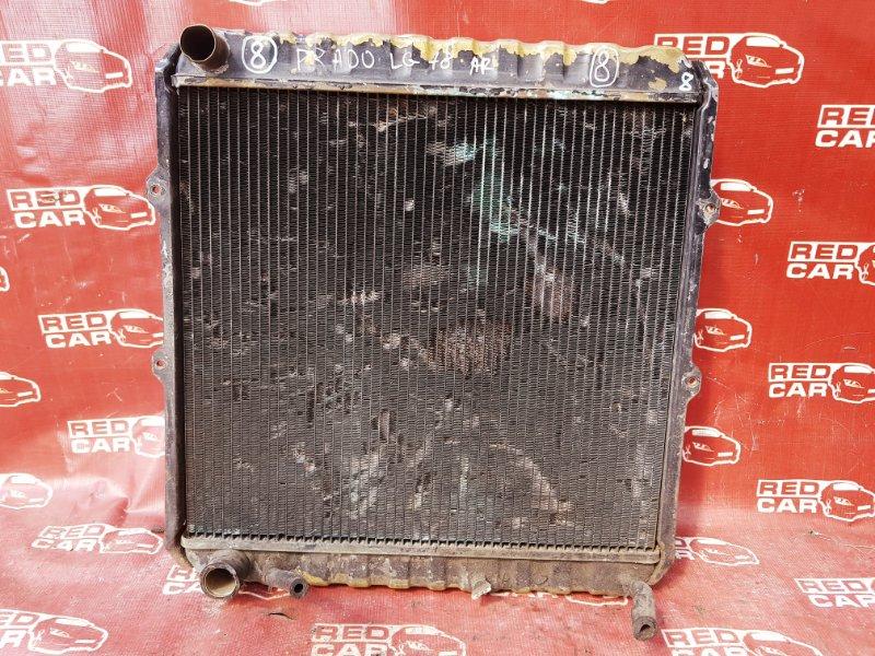 Радиатор основной Toyota Prado LJ78 2L-T (б/у)